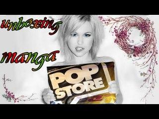 UNBOXING MANGA, un altro pacco da PopStore