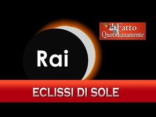 La Rai oscura il sole a chi non pagherà il canone (parodia Eclissi 20 marzo)