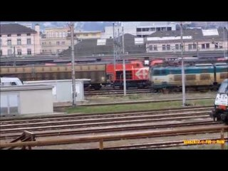 Manovre & Partenze a Chiasso FFS - Maneuvers & Departures at Chiasso SBB (02)