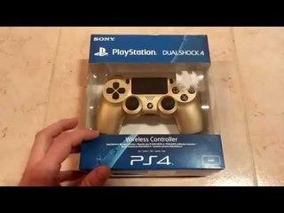 Unboxing DualShock 4 Oro [ITA]