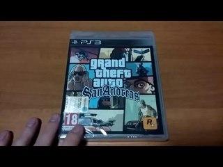 Unboxing Grand Theft Auto San Andreas Ps3 [ITA]