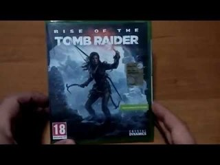 Unboxing Rise Of The Tomb Raider Xbox One [ITA]