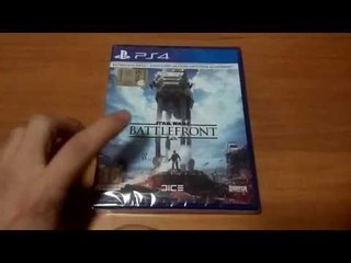 Unboxing Star Wars Battlefront Day One Edition Ps4 [ITA]