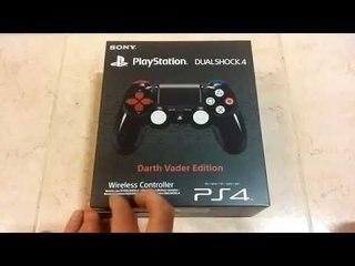 Unboxing Dual Shock 4 Darth Vader Edition [ITA]