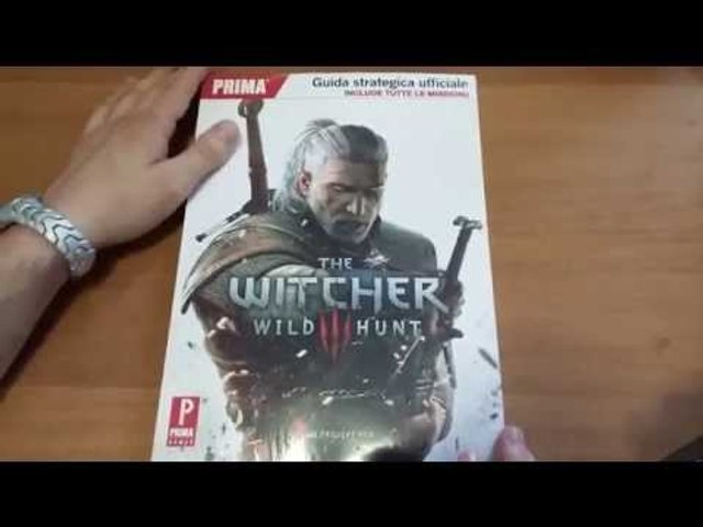 Guida Strategica Ufficiale The Witcher 3 Wild Hunt [ITA]