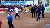 Demi-finales, Super 16 masculin, Sport Boules, Saint-Egrève 2016