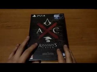 Unboxing Assassin's Creed Syndicate Rooks Edition [ITA]