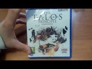 Unboxing The Talos Principle Deluxe Edition Ps4 [ITA]