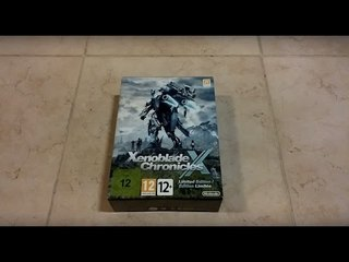 Unboxing Xenoblade Chronicles X Limited Edition [ITA]