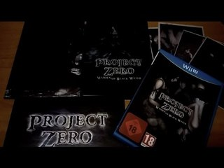Unboxing Project Zero: Maiden Of Black Water Limited Edition [ITA]