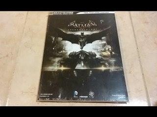 Unboxing Guida Strategica Ufficiale Batman: Arkham Knight [ITA]