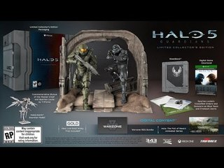 Unboxing Limited Collector's Edition Halo 5: Guardians [ITA]