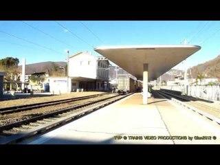 Swiss Stations & Rail Traffic: Maroggia-Melano