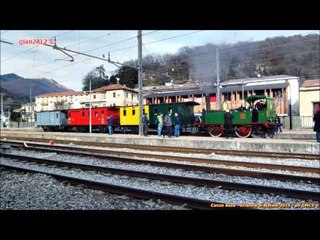 "La ""Strenna di Natale"" a Canzo-Asso - Steam Loco for ""Xmas"" on ""Ferrovie Nord"""