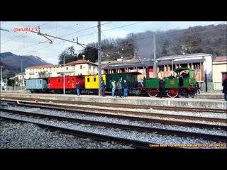 """La """"Strenna di Natale"""" a Canzo-Asso - Steam Loco for """"Xmas"""" on """"Ferrovie Nord"""""""