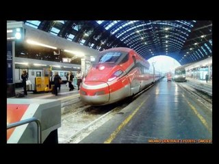 Frecciarossa 1000 a Milano Centrale
