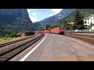 i grandi merci intermodali a Faido - great intermodal cargo trains in Faido - 4.4