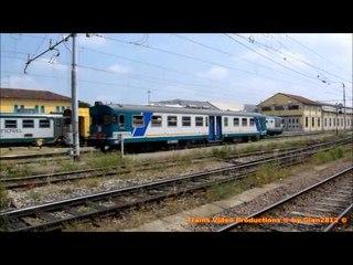 movimento treni alla stazione di Cremona - trains moving at Cremona station