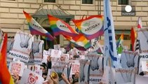 'Wake up Italy,' marches take place in favour of same-sex civil unions