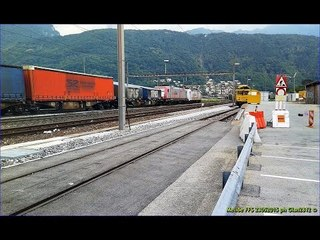 Freight & Cargo Trains at Melide Station - Mercioni a Melide (3.4)