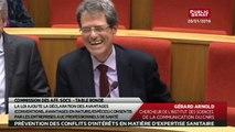 Table ronde sur conflits d'intérêt et expertise sanitaire - Les matins du Sénat (25/01/2016)