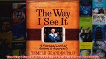 Download PDF  The Way I See It A Personal Look at Autism and Aspergers FULL FREE