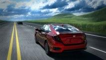 2016 Honda Civic Road Departure Mitigation (RDM)