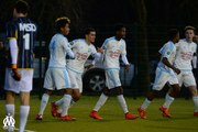 U17 National - Nîmes 1-2 OM : le but de Malik Ousfane (57e)