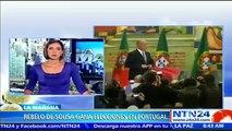 Rebelo de Sousa gana las presidenciales lusas, según sondeos a pie de urna