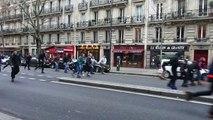 【PARIS】1月24日ローラーブレード Street skating(Roller skating)