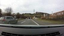 Autoroute Suisse Lausanne. Motorway Lausanne.