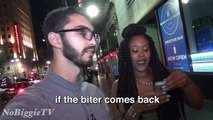Kissing Hot Black Girls Prank (GONE WILD) - Picking Up Girls With Sexual Pickup Lines - Drunk Times