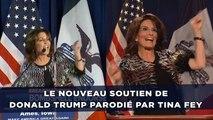 Sarah Palin, nouveau soutien de Donald Trump, parodiée par Tina Fey