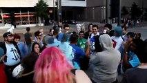 A-Kon 2012 Street Preacher
