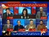 Interesting Conversation between Ayesha Baksh and Hassan Nisar over COAS Raheel Shareef Statement