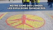 Notre-Dame-des-Landes: Les expulsions prononcées