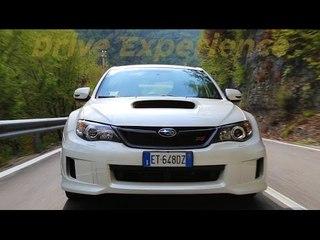 Pure sound Subaru Impreza Wrx Sti (my12)  - Davide Cironi drive experience