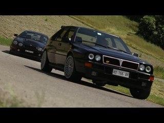 Scene eliminate '90s Rally Legends - Davide Cironi drive experience