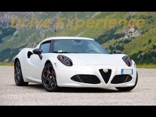 Alfa Romeo 4C - Davide Cironi drive experience (ENG.SUBS)