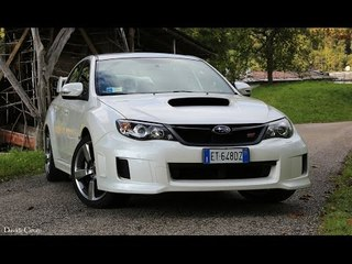 Subaru Impreza Wrx Sti (my12) - Davide Cironi drive experience (ENG.SUBS)