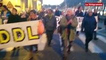 Quimper. NDDL : 50 manifestants protestent contre les autorisations d'expulsions