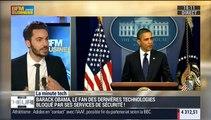 La Minute Tech: Barack Obama, un président très geek, est bloqué par ses services de sécurité informatique - 25/01
