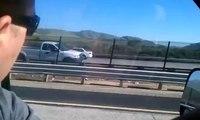 Dans le mauvais sens sur l'autoroute