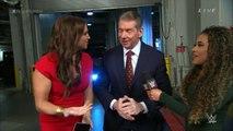 JoJo Interviews Vince McMahon and Stephanie McMahon