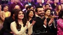 Aiza Khan & Hamza Ali Abbasi at Lux Style Awards 2015