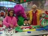 「barney and friends」 Barney Fun On Wheels Clip