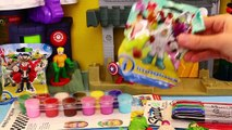 Finger Toy Art with Imaginext Superheros & Characters + Face Paint DIY Kids Art Project