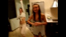 Crazy Girls Home Dancing