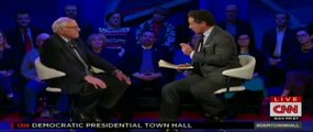 FULL CNN Democratic Presidential Town Hall Debate - Bernie Sanders P1 - Iowa - 1-25-2016