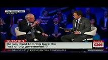 FULL CNN Democratic Presidential Town Hall Debate - Bernie Sanders P3 - Iowa - 1/25/2016